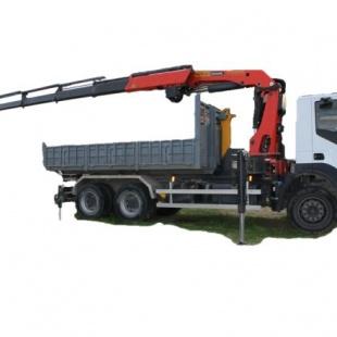 Alquiler Camión Grúa Palfinger Cabestrante Pk 2900